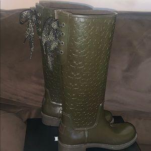 Coach Shoes - Women's Coach Signature Rain Boots